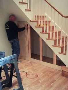 | Many of us live in houses that have an open area underneath the stairs. This often gets used for shoes or bags or maybe, if there is enough height, fo...