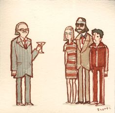 """The Royal Tenenbaums - """"Anybody interested in grabbing a couple of burgers and hittin' the cemetery?"""""""