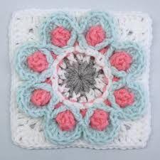 All Granny Squares – Veronika's crochet patterns Crochet Motif, Crochet Flowers, Crochet Patterns, Granny Squares, Daisy, Mandala, Crocheted Flowers, Crochet Pattern, Margarita Flower