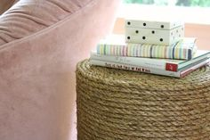 How to Make a Rope Side Table from Scratch — Apartment Therapy