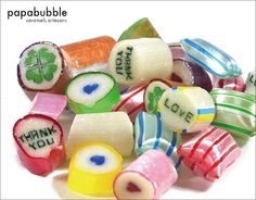 papabubble candies cute!