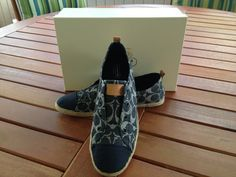 'COACH Mattey Slip On Espadrilles-8.5' is going up for auction at  3pm Mon, Jun 24 with a starting bid of $70.