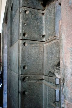 The strange door that is not a door inside the Coricancha of Cusco.