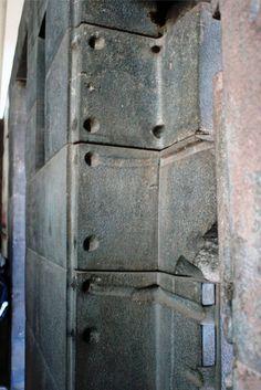 The strange door that is not a door inside the Coricancha of Cusco.