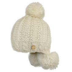 Bonnet Rmoutain Cold grosse maille Ecru #snow #ski #neige #Rmoutain sur @hatshowroom Votre Boutique Headwear !