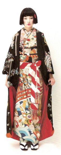 This kimono is so beautiful!