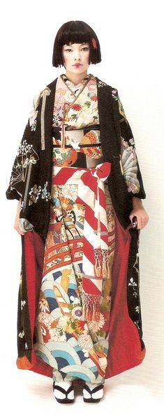 This kimono is so beautiful!