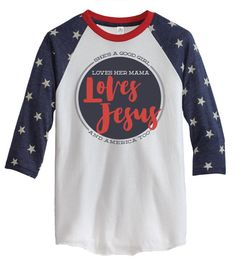 Loves Jesus/Free Fallin' Tee by HarpoGraphics on Etsy