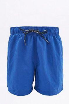 Tommy Hilfiger – Badeshorts in Blau mit Logo – Herren M