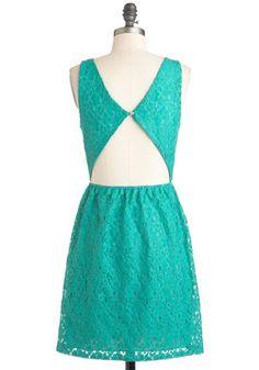 Colored Glass Dress, #ModCloth