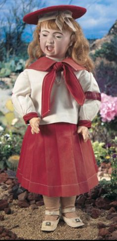 For the Love of Dolls, The Mildred Seeley Collection: 219 French Bisque Crying Doll, 211, By Jumeau