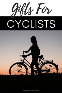 Gift Ideas for Cyclists and Bike Lovers #bikelovers #giftguide