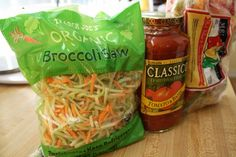 Ground Turkey Broccoli Slawghetti Crock Pot Recipe - Run Eat Repeat