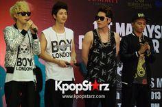 M.I.K 'Get Away' Promo Tour in Malaysia - Oct 26, 2013 [PHOTOS] More: http://www.kpopstarz.com/articles/47076/20131028/m-i-k-shin-jay-czero-sakoo-promo-tour-malaysia-photo-slideshow.htm