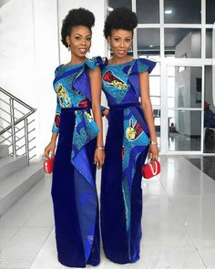 "133 Likes, 2 Comments - Ms Asoebi (@ms_asoebi) on Instagram: ""Beautiful Twins @misstylove @kehney """