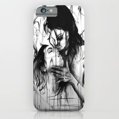 Kiss iPhone & iPod Case by Robin Persson - $35.00
