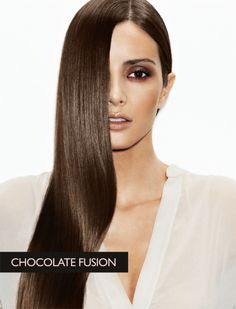 Chocolate brown hair from Z.One No Inhibition Coloring Collection