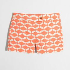 """Factory 3"""" printed stretch chino short : AllProducts 