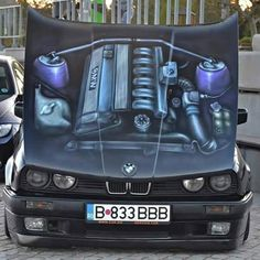 Bmw Engines, Bmw M2, Engine Types, Bmw 3 Series, E30, Car Wallpapers, Airbrush, Cars And Motorcycles, Hot Rods