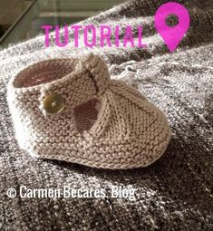 Best 12 New knitting patterns baby dress simple 60 ideas – SkillOfKing. Baby Booties Knitting Pattern, Crochet Baby Shoes, Crochet Baby Booties, Crochet Slippers, Baby Knitting Patterns, Baby Patterns, Knitted Baby, Knitting For Kids, Hand Knitting