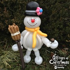 Chill out today and watch Frosty's Winter Wonderland @ 4:30pm/3:30c on‪#‎ABCFamily‬'s ‪#‎25DaysOfChristmas‬! Check out more #365DaysofBalloons on Facebook, Twitter, Instagram and Pinterest!