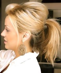 The Cutest Messy Ponytail Hairstyles 2016
