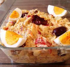 Πατατοσαλάτα με λιαστή ντομάτα Υλικά 2 Πατάτες βρασμένες και κομμένες σε κύβους 100γρ λάχανο τριμμένο 1/2 Καρότο τριμμένο 6 ελιές χωρις κουκουτσι ψιλοκομμένες ροδέλες 2 λιαστές ντοματες σε κομματάκια 1 πιπερια φλωρίνης 1/2 ξηρό κρεμμυδι ψιλοκομμένο λάδι 1/2 λεμόνι 1 κγ μουστάρδα με μέλι παπαδημητρίου 1 κγ μαγιονεζα αλάτι πιπέρι Εκτέλεση Σε ένα μπολ βάζετε […] The post Πατατοσαλάτα με λιαστή ντομάτα appeared first on Η Μαγειρική ανήκει σε όλους.