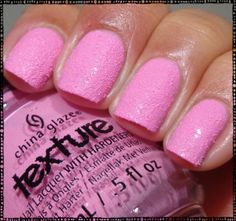 China Glaze Texture Collection Unrefined