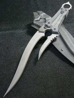 """Custom knife - """"Basilisk"""""""