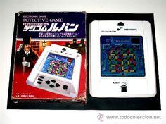 Maquinita Electronic Detective Game Epoch made in Japan, original años 80. Funcionando.