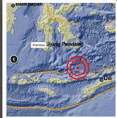 10/24/2017 - Strong 6.7 earthquake hits East Nusa Tenggara, no tsunami warning