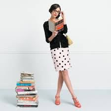 Kate Spade – Celebrating Whimsy as a Queen of Social Media Kate Spade, Casual Chic, Casual Elegance, Geek Mode, Librarian Style, Sexy Librarian, Outfits Spring, Elle Mexico, Saint Laurent