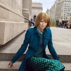 Anna Wintour on the Future of Print, Hillary, and How She Feels About Her Reputation. Photo by Annie Leibovitz