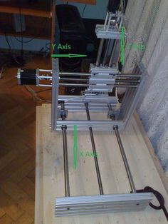 Mini CNC Router, Complete Plans and Instructions: 27 Steps (with Pictures) Routeur Cnc, Cnc Router Plans, Arduino Cnc, Diy Cnc Router, Cnc Plans, Cnc Woodworking, Cnc Projects, Arduino Projects, Electronics Projects