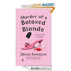 Murder of a Botoxed Blonde: A Scumble River Mystery: Denise Swanson, Gamma Lambda: Amazon.com: Books