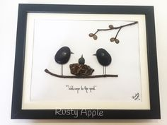 A personal favorite from my Etsy shop https://www.etsy.com/ca/listing/267951037/pebble-art-christening-new-baby-baby