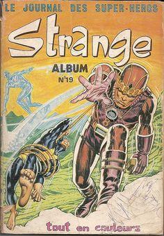 Couverture de Strange -REC019- Album N° 19 (du n°56 au n°58)