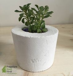 DIY CONCRETE - Vasi in cemento per casa e giardino. Tutorial DIY concrete - Interior design