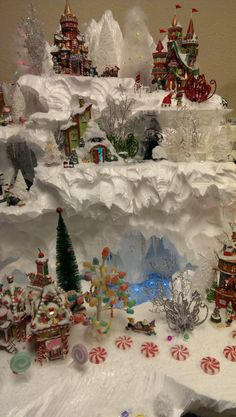 North Pole Ice Cave by Christi