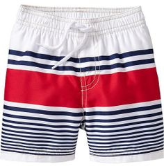 8aa9aa0a71 Old Navy Americana Striped Swim Trunks for Baby on shopstyle.com Patriotic  Outfit, Holiday