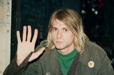 Kurt Cobain by Gilbert Blecken. Berlin, Germany, Nov. 10, 1991.