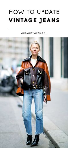The new way to wear your old jeans