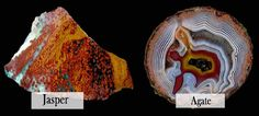 What Is the Difference Between Agates and Jaspers?