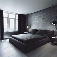 Schlafzimmer You are in the right place about new apartment decor Here we offer you the most beautiful pictures about the apartment decor themes you are looking for. When you examine the Schlafzimmer Modern Bedroom Decor, Modern Mens Bedroom, Male Bedroom Decor, Trendy Bedroom, Contemporary Bedroom, Male Bedroom Design, Bedroom Ideas For Men Modern, Men's Bedroom Design, Modern Beds