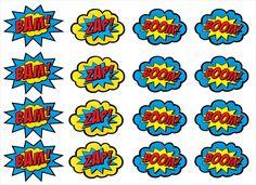 Posts about festa infantil on Wonder Woman Birthday, Wonder Woman Party, Batman Birthday, Superhero Birthday Party, Anniversaire Wonder Woman, Festa Pj Masks, Comic Bubble, Superhero Baby Shower, Free Clipart Images