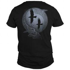ODINS RAVENS VIKING ODIN VALHALLA MIN T-Shirts & Hoodies