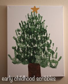 Early Childhood Scribbles: O Christmas Tree . . .