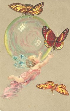 chasing bubbles and butterflies