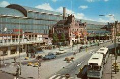 Station Haarlem omstreeks 1970 - Serc