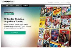 "#Cómics #Internet #lanzamiento Comixology Unlimited, el ""Netflix"" de los cómics digitales"